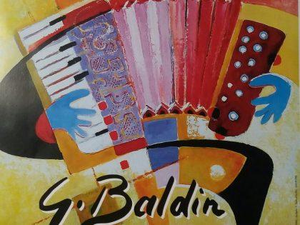 Mostra personale del pittore locale Giampiero Baldin